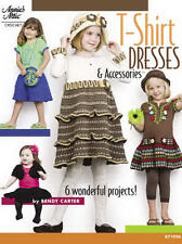 T-Shirt Dresses & Accessories Girls Sizes 2-6 Crochet Patterns Annie's Attic NEW