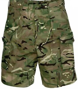 NOT COPIES, NEW Official Genuine British Army MTP Combat Shorts, Camo PCS UK DPM
