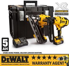 DeWalt DCK264P2 18v XR Twin Brushless Nailer Kit 2x5.0Ah Li-ion DS400 *RW*