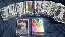 2018 BOWMAN CARDS-COMPLETE CONTENTS OF 4 JUMBO PACKS