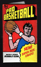 1976 Topps basketball Wax Pack