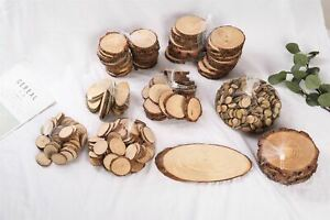 Real Wood Slices - ✅ Many Sizes ✅ Best Price ✅ Natural Bark Log Disc Tree