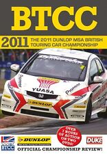 BTCC British Touring Car Championship - Official Review 2011 (2 DVD set) New