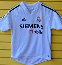 ADIDAS 04-05 REAL MADRID HOME JERSEY KIDS SIZE SMALL PRE-OWNED VINTAGE