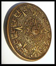 AZTEC ,CALENDAR, DECORATIVE ,SCULPTURE,HANDMADE