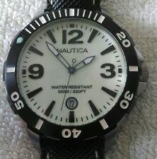 NAUTICA Uomo BFD101 Diver Watch A13501G ottime condizioni