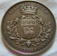 MED9120 - MEDAILLE EXPOSITION OUVRIERE NATIONALE ROUEN 1896 argent
