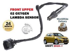 FOR SUZUKI SWIFT 1.2 VVT K12B 2010-> NEW FRONT TOP UPPER 02 OXYGEN LAMBDA SENSOR