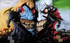 Spawn VS Batman Cartoon Anime Fashion Art Decor Canvas POSTER 36x24""