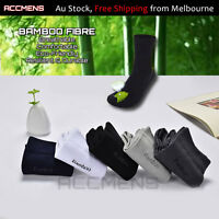 3/7 Pairs Mens Bamboo Socks Quality Light Business Casual Sports Durable Black&.