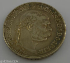 Silbermünze 5 Korona Jozsef Kaiser von Österreich/Ungarn von 1900