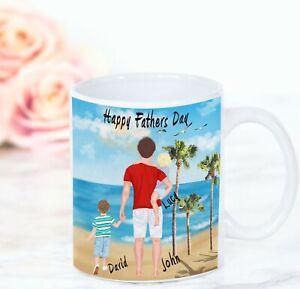 Personalised Mug Cup Custom Design Daddy Family Fathers day Mug
