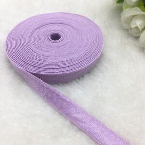 "3/8""(10mm) 5 yards Spandex Ribbon Multirole Elastic Band For Sewing Ties Hair"