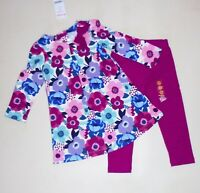 Gymboree Girls Floral Dress Leggings 18-24  NWT