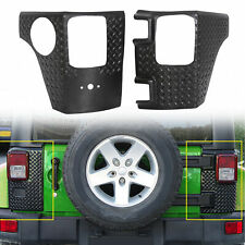 Rear Corner Guards Body Armor Kit Tail light Cover for Jeep Wrangler Jk 07-18 (Fits: Jeep)