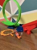 Mattel Turbo Movie Snail Shell Racers Ring Of Fire Hot Wheels RARE