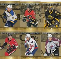 2015-16 UPPER DECK TIM HORTONS SHINING FUTURES 10 DIFFERENTS CARDS  LOT 68     a