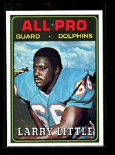 1974 TOPPS #123 LARRY LITTLE DOLPHINS NM/MT D023613