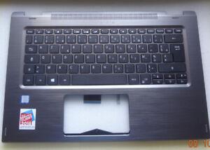 #067 ACER Spin 3 SP314-51 Tastatur + Oberteil grau Layout France NKI1313098
