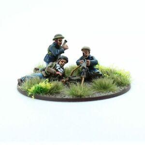 Workers Militia HMG Team Footsore Miniatures Inter-War 1918-1939 07VBC301