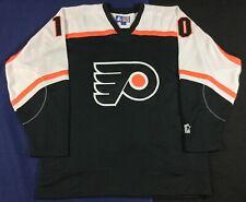 Philadelphia Flyers John LeClair #10 Hockey-NHL Starter Jersey SizeM