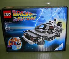 LEGO 21103 The DeLorean Time Machine Back to the Future CUUSOO