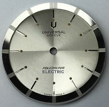 Universal Genève Polerouter Electric Dial New Old Stock ca. 1960