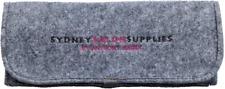 SydneySalonSupplies GREY FELT HEAT MAT/POUCH for Hair Straightener/Curling Iron