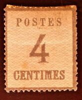 CatalinaStamps: France Germany Alsace Lorraine Stamp #N10 Used, Lot #A9