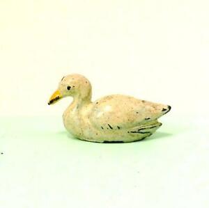 Vintage Lead Farm PHILLIP SEGAL Swimming Duck Very RARE 1938 - 52  Britains Era