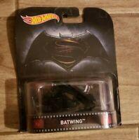 Hot Wheels Batman vs Superman Batwing 2016 Mattel Brand New Retro Entertainment