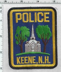 Keene Police (New Hampshire) 4th Issue Shoulder Patch