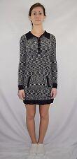 MISSONI Black White Knit Sweater Dress Doubles as Tunic Legging Top - Size XS