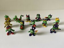"Vintage Astrosniks McDonald's Happy Meal Toys Alien Dragon 1983 3"" Figure Lot"