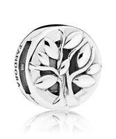 PANDORA Schmuck Reflexions Clip Charm Lebensbaum Silber 797779