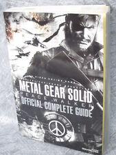METAL GEAR SOLID Peace Walker Guide Book PSP SE81*