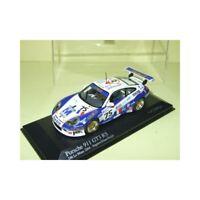 PORSCHE 911 GT3 RS N°75 LE MANS 2004 MINICHAMPS 1:43 Arrivée 23ème