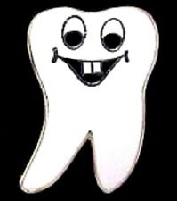 Dentist Tooth Lapel Pin Professional Dental Medical Smiley Face 114 New