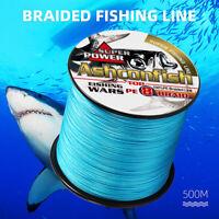 500M Super Strong Multifilament PE Line 8 Strands PE Braided Sea Fishing Line