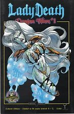 "Lady Death: Dragon Wars #1 Lettered Edition #""Y"" (25 of 26) S&N"