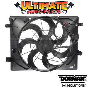 Radiator Cooling Fan (3.8L V6) for 10-12 Hyundai Genesis (Coupe)