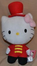 "14"" Hello Kitty Circus Uniform Plush Dolls Characters Toys Stuffed Animals 2014"