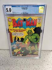CGC 5.0 BATMAN #154 DC COMICS 3/63