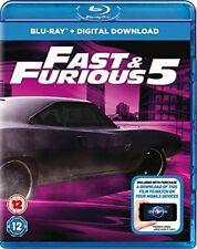 Fast Five [Blu-ray] [Region Free] [DVD][Region 2]
