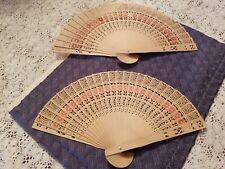 Folding Hand Held Wooden Fan Gumpai Uchiwa Japanese Fan