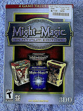PC New Might and Magic VI, VII, VIII, IX Role Playing Games Platinum Edition