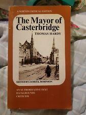 The mayor of Casterbridge  An authoritative text  backgrounds critici