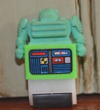 Vintage Made in Japan Green Rolling Robot Eraser 1980s (?)