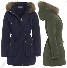 Faux Fur Casual Quilted Coats & Jackets for Women