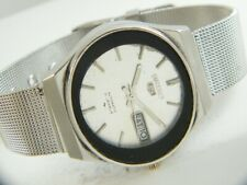OLD VINTAGE SEIKO 5 AUTOMATIC JAPAN MEN'S DAY/DATE WATCH 413b-a205695-1